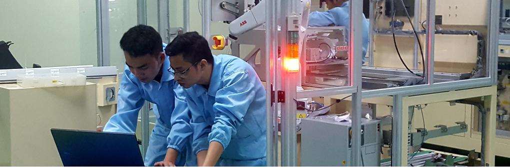 Jobs at Công Ty TNHH Giải Pháp Tự Động Hóa Sản Xuất Việt Nam