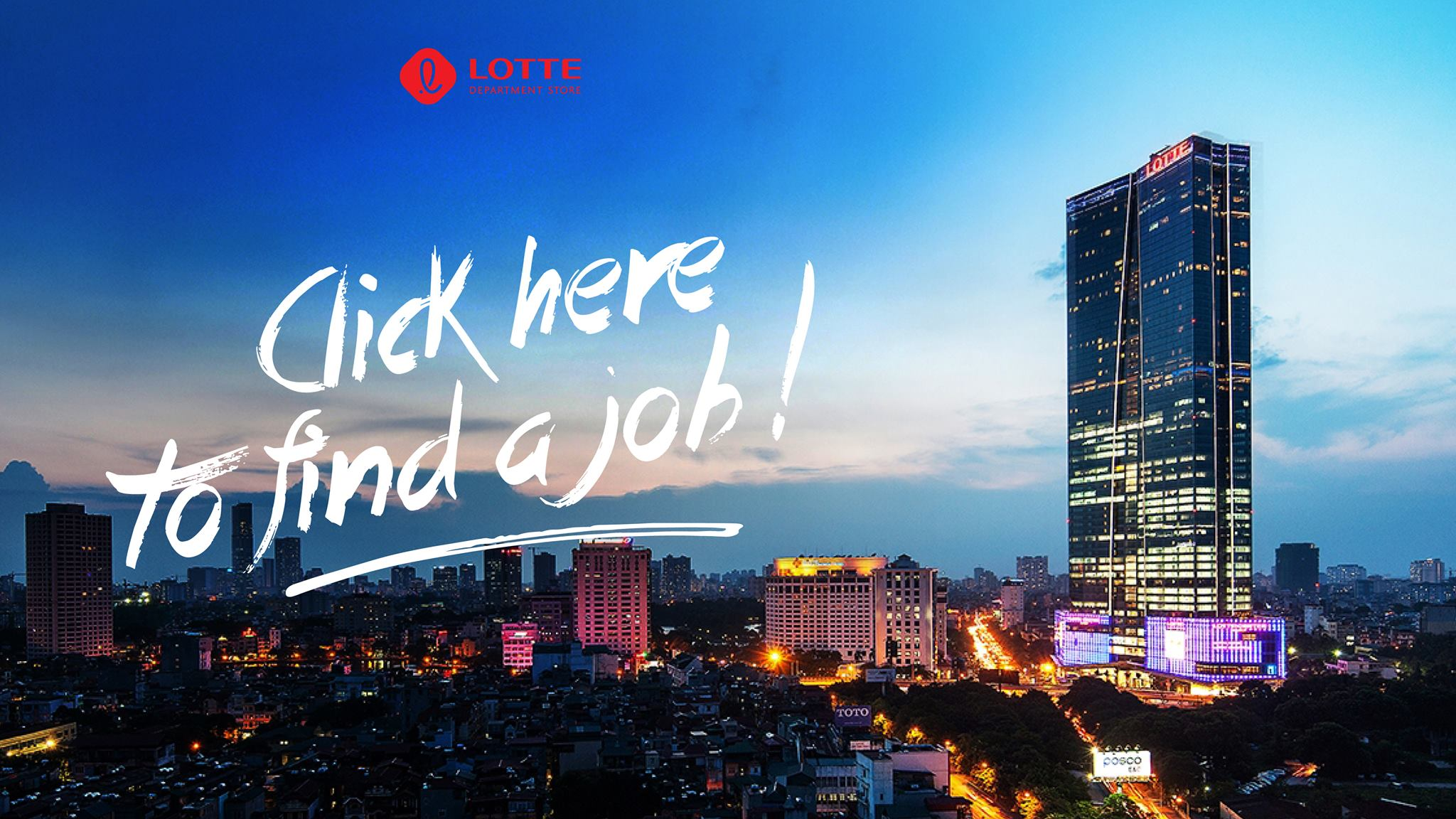 Jobs at Lotte Shopping Plaza Viet Nam