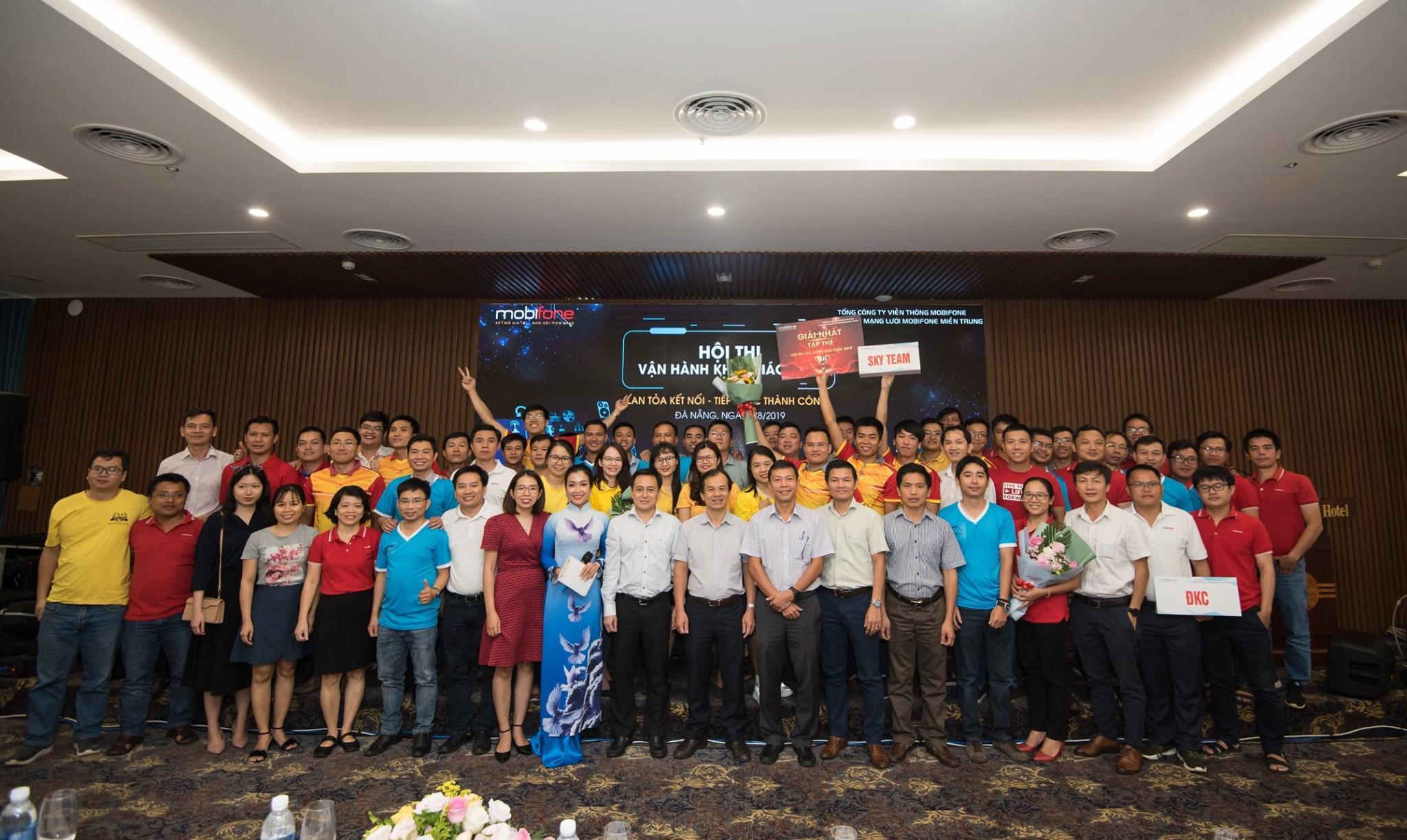 Việc làm đang tuyển dụng tại Trung Tâm Mạng Lưới MobiFone Miền Trung - Chi Nhánh Tổng Công Ty Viễn Thông MobiFone