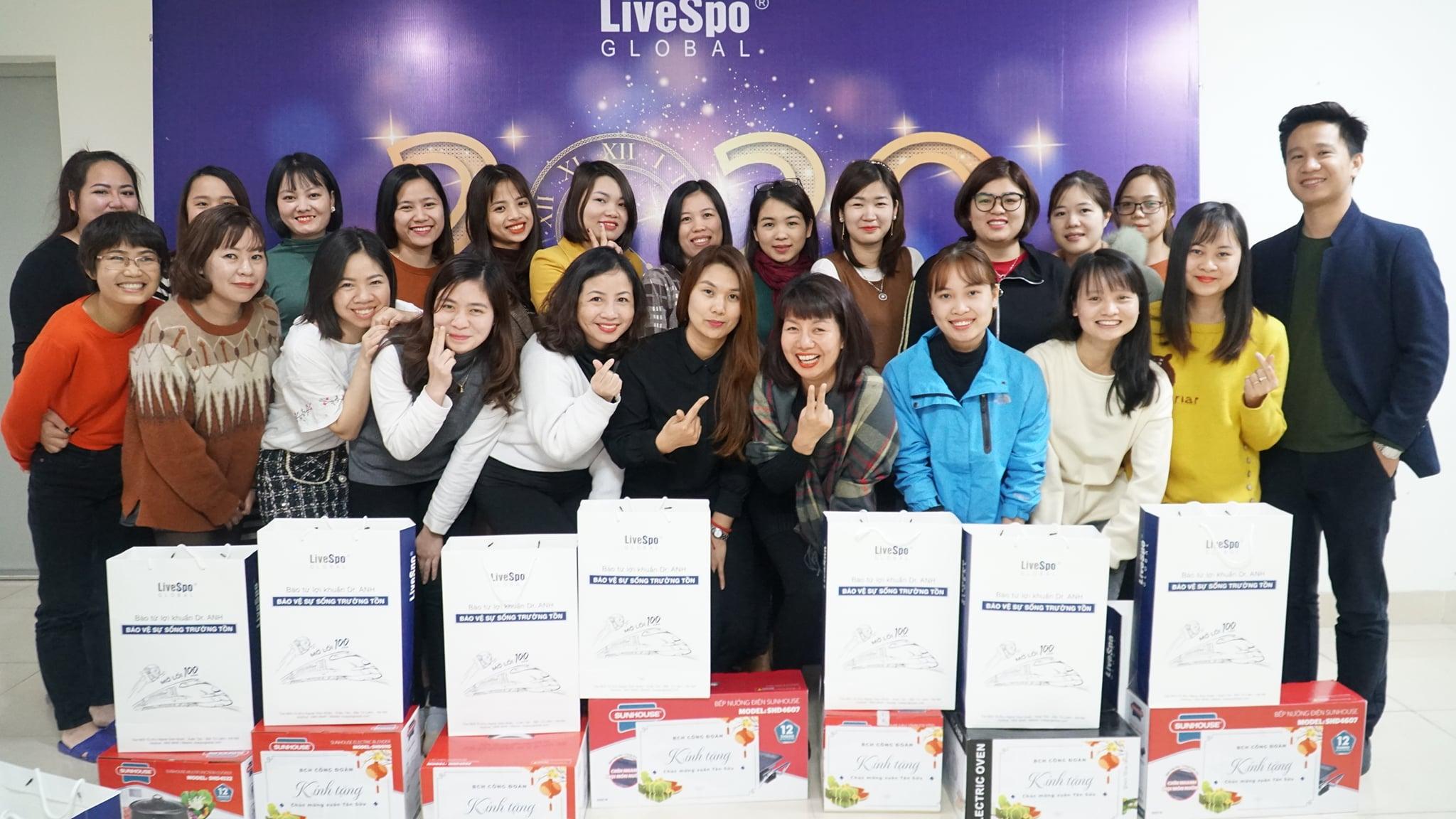 Jobs at Công Ty Cổ Phần Livespo Global