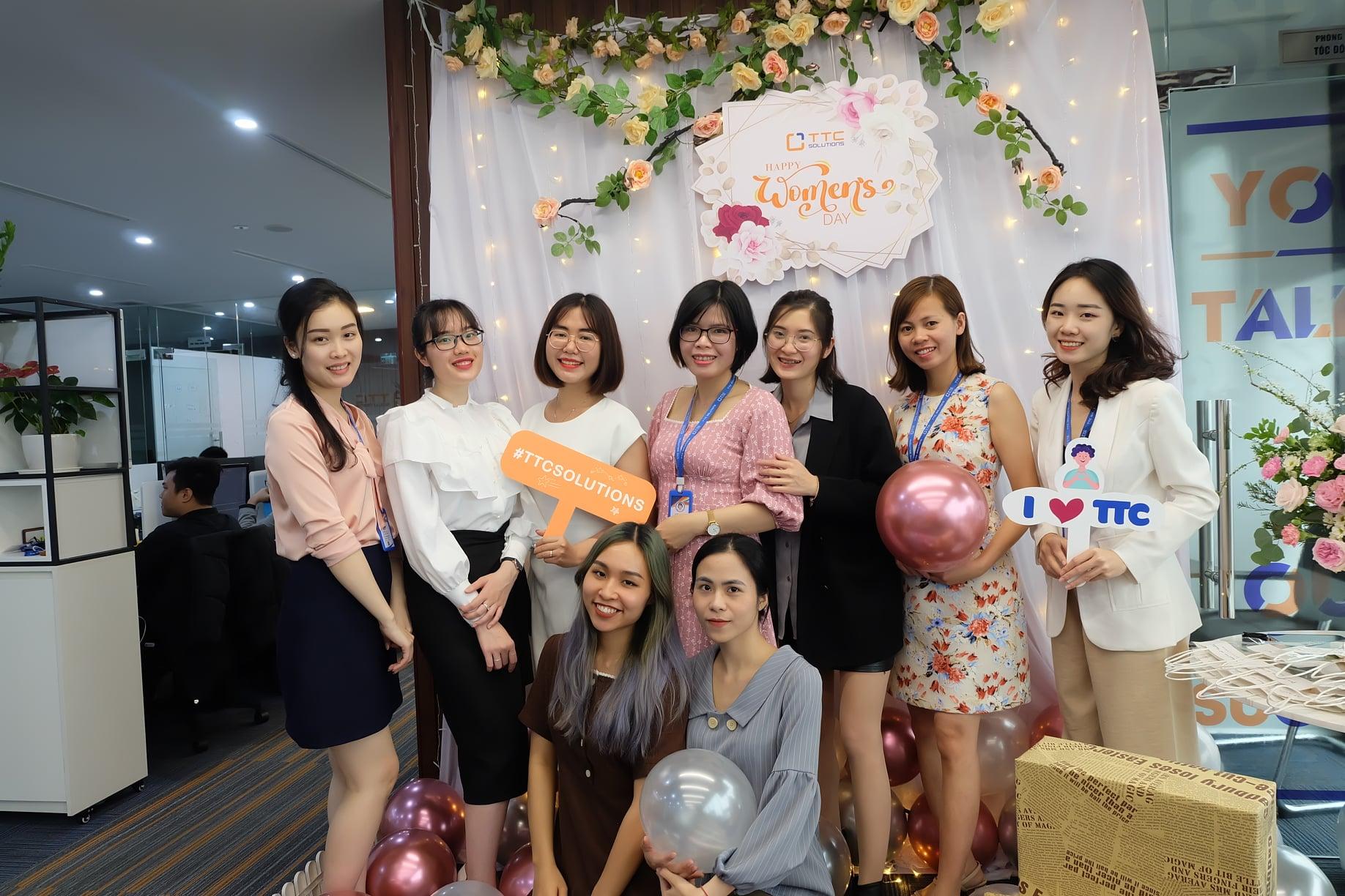 Jobs at Công Ty Cổ Phần Giải Pháp Công Nghệ TTC Việt Nam