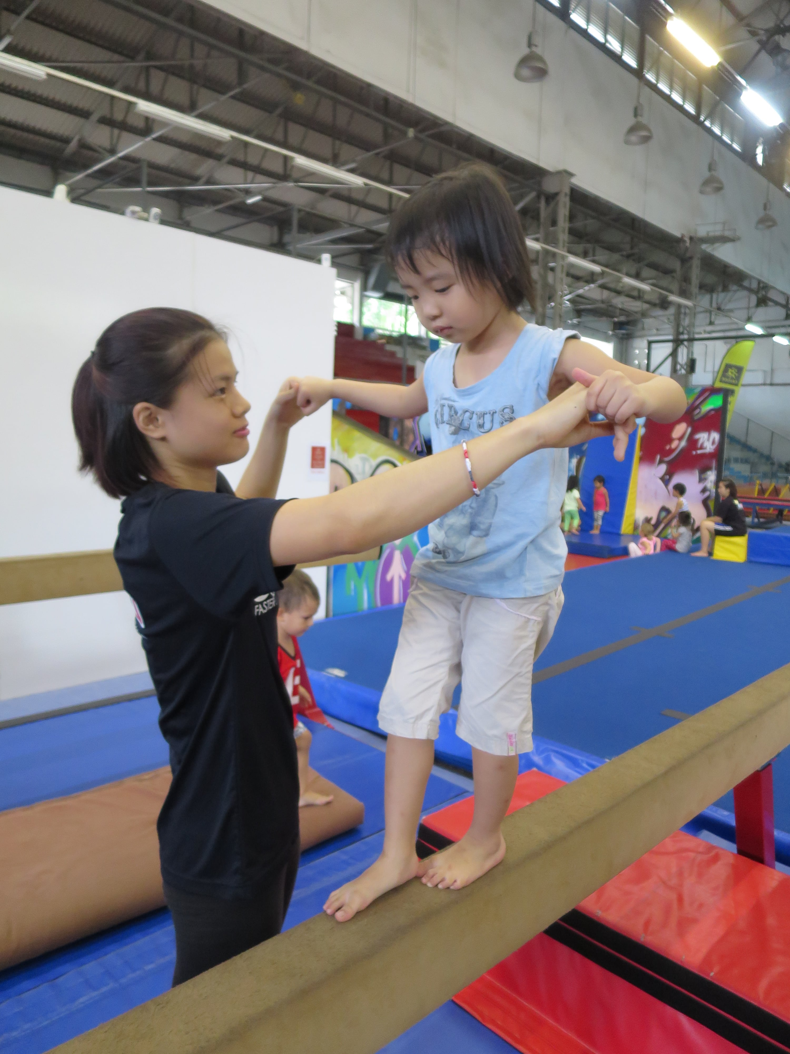 sports gymnastics coach  trainer job